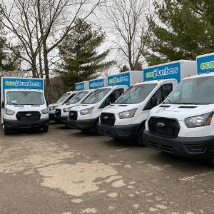 Eco Plumbers Trucks