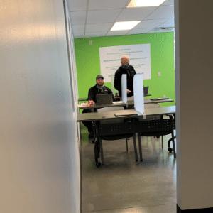 Eco Plumbers office room