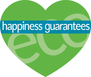 The Eco Plumbers - Happiness Guarantee logo