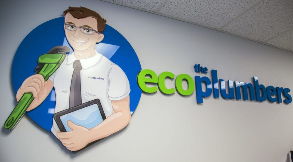 Eco Plumber Office Logo