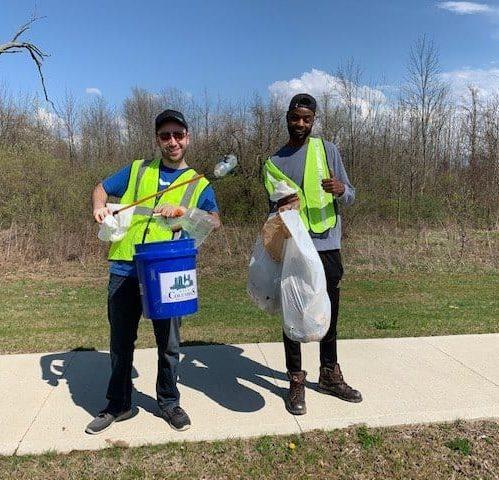 Eco pick up trash